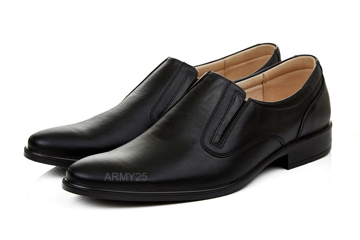 Военные туфли кожаные