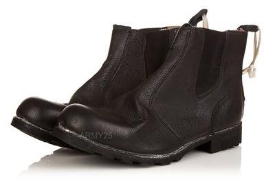Кожаные ботинки морские