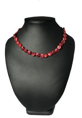 Piroska - édesvízi biwa igazgyöngy nyaklánc