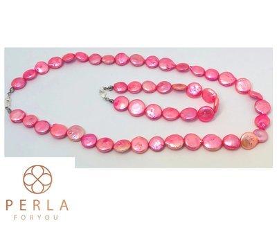 Rózsaszín párduc ékszer szett- édesvízi igazgyöngy