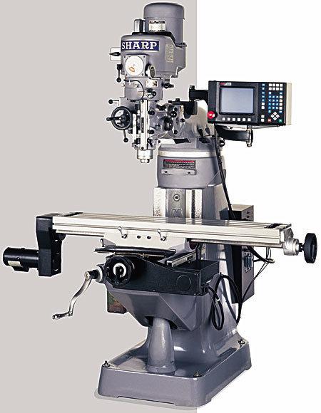 LMV-50/MP 2 Axis CNC Knee Mill LMV-50/MP-2