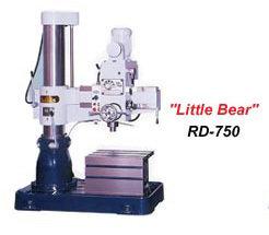 """Little Bear"" RD-750 - Radial Drill RD-750"