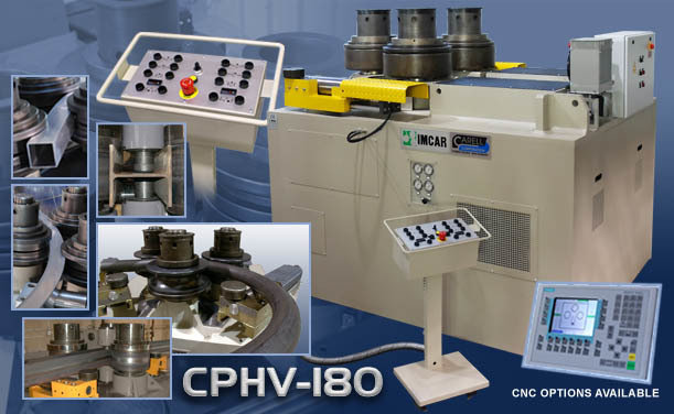 CPHV-180 - 3 Roll Double Pinch Universal Bending Machine