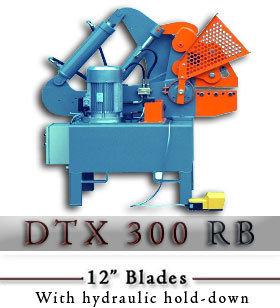 DTX 300RB Hydraulic Alligator Scrap Shear c/w hydraulic hold DTX 300RB