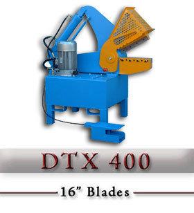 DTX 400 Hydraulic Alligator Scrap Shear