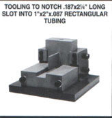 No. 1000 HD Single Tube & Pipe Notching Units