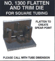 No. 1300 Flatten And Trim Die