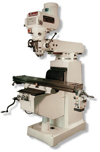 Variable Speed Vertical Turret Mill