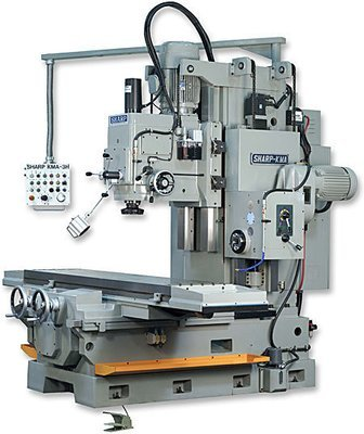 KMA-3H Vertical Milling Machine
