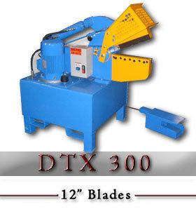 DTX 300 Hydraulic Alligator Scrap Shear