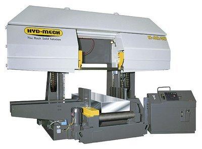 H-40/40- Extra Lg. Capacity Dual Post Horizontal Band Saw