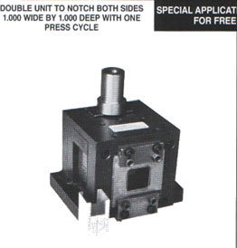 No. 2000 Double Notch Die