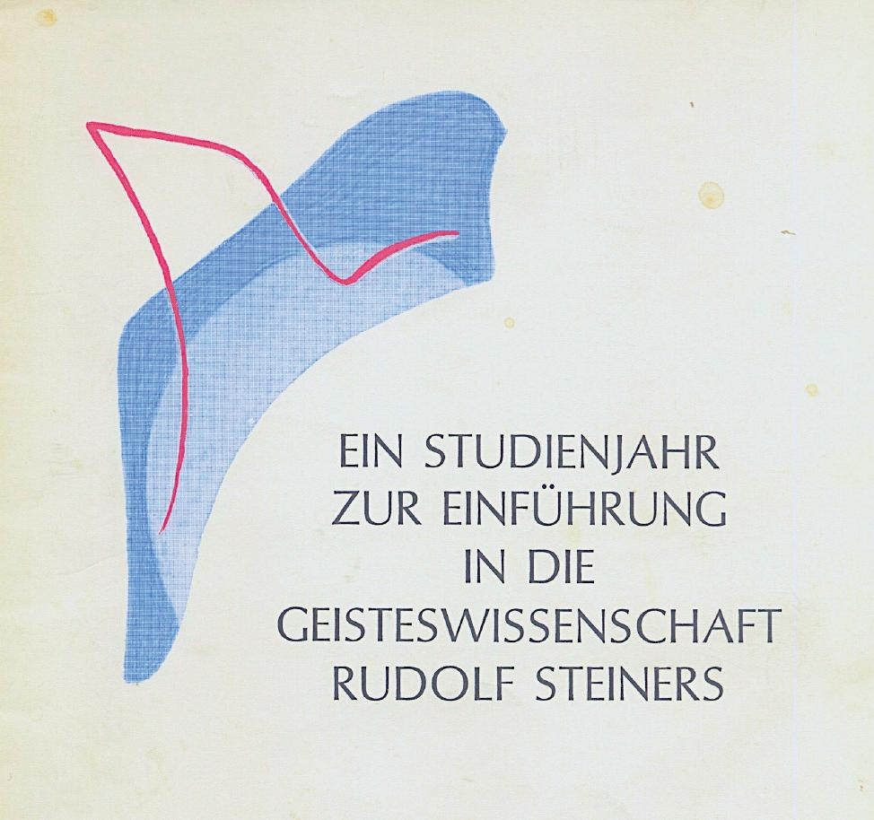 H.Witzenmann: Einleitung in das sozialästhetische Studienjahr (1985)