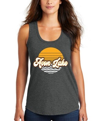 Sun & Waves ~Women's Loose Fit Tank