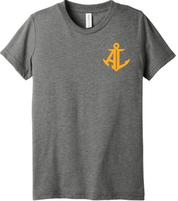 Maroon & Gold State~Youth Unisex Tee
