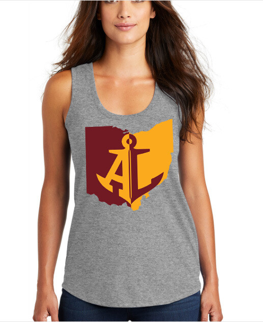 Maroon & Gold State~Women's Loose Fit Tank