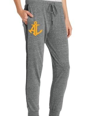 Gold Anchor Logo~Women's Eco-Jersey Jogger