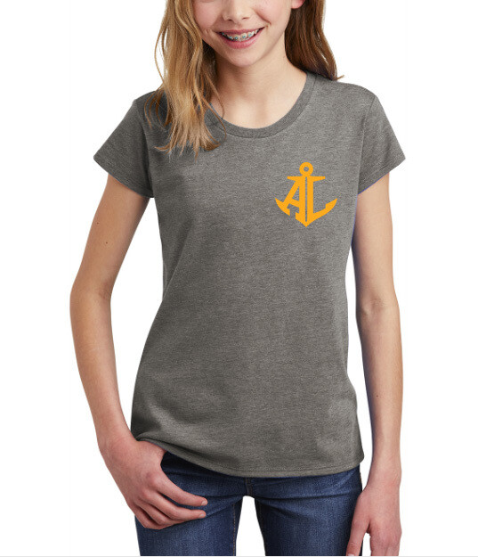 Maroon & Gold State~Youth Girls Tee