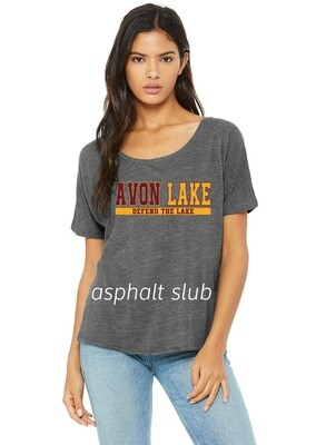 Defend the Lake~Women's Slouchy Tee