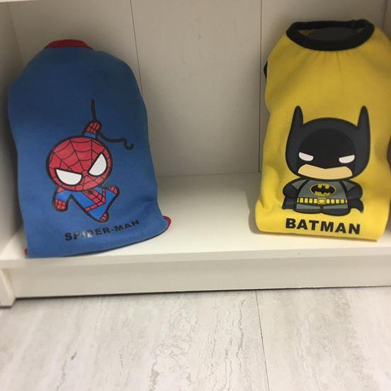 Super Hero Swater Superman / Batman