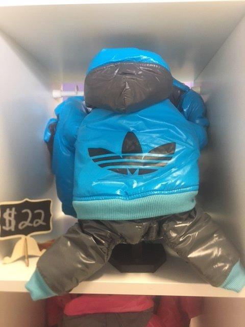 Blue Addidog Jumpsuit