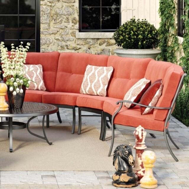 Online Sofa Store: Lexington 3 Piece Curve Sectional *Closeout Price