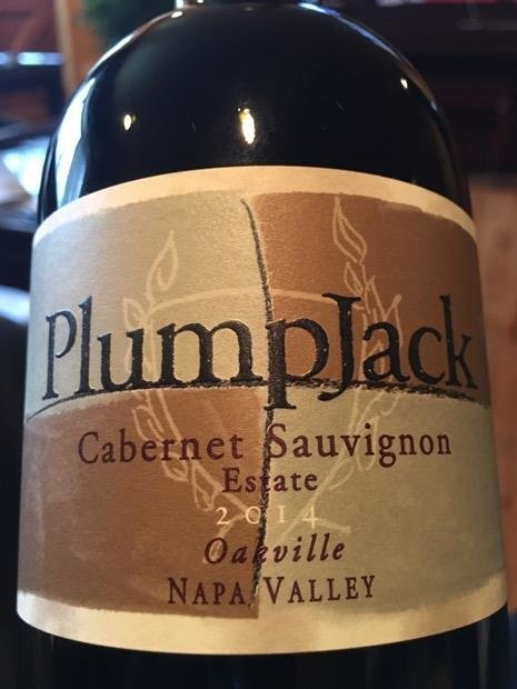 Bottle of Plumpjack Cabernet '14 100000002629