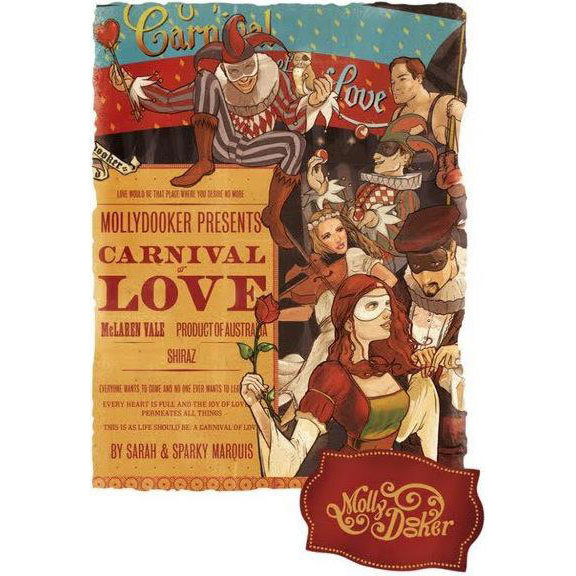 Bottle of MollyDooker Carnival of Love 2016 9336975000013