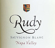Bottle of Rudy Sauvignon Blanc 759580271071