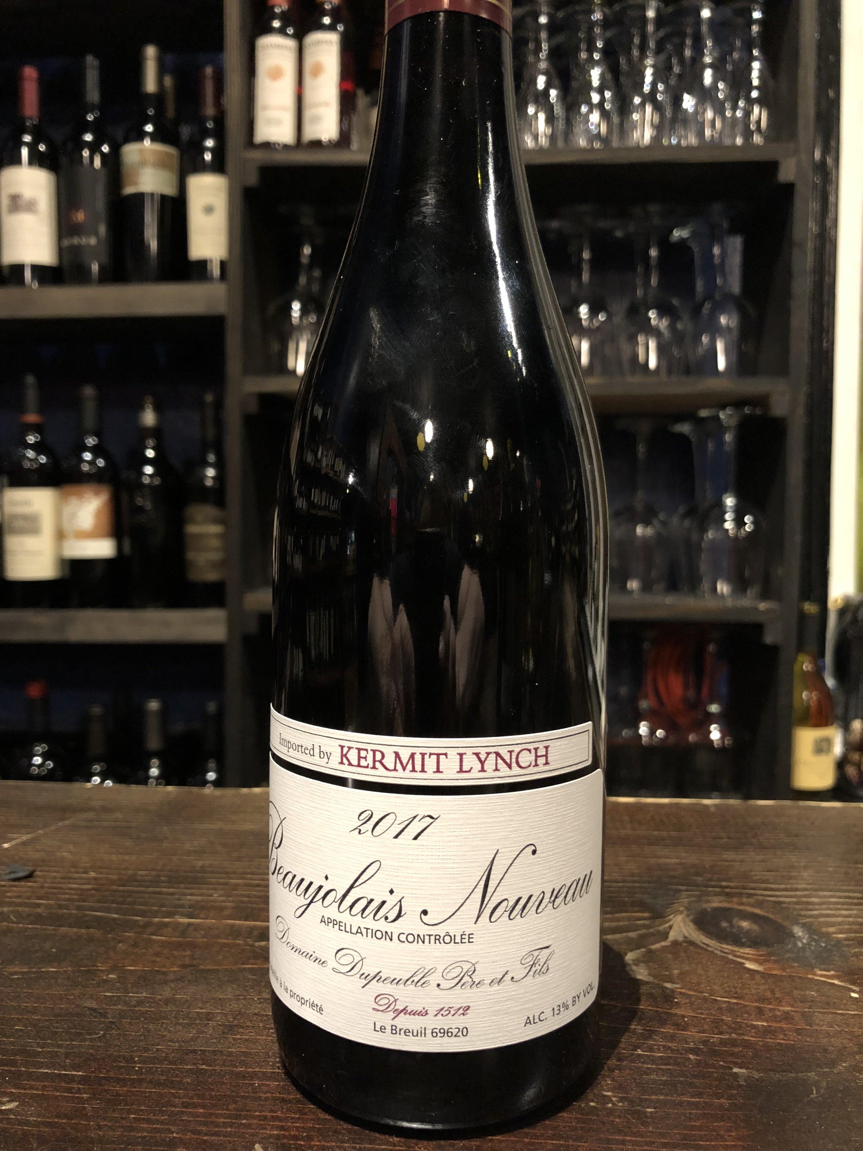 Bottle of Domaine Dupeuble Beaujolais Nouveau '17 100000010488