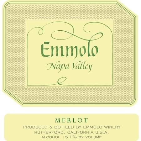 Bottle of Emmolo Merlot '15 831526000546