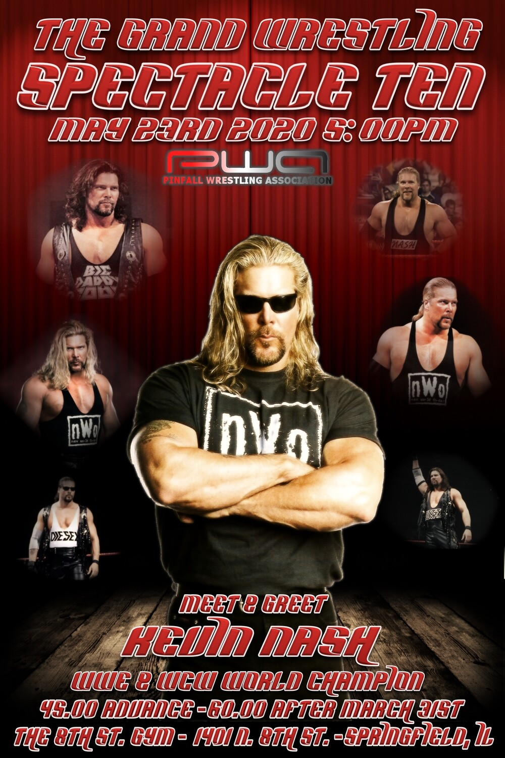 Meet & Greet with Kevin Nash 5/23/20 only