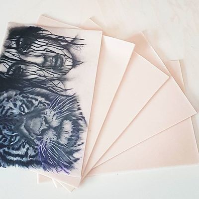 3 x A5 Reelskin sheets  (148 x 210)  £15.00