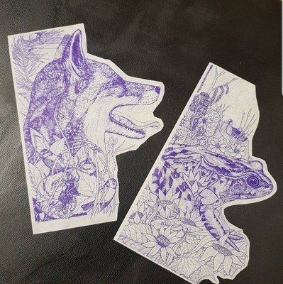 2 x Inkjet Stencils