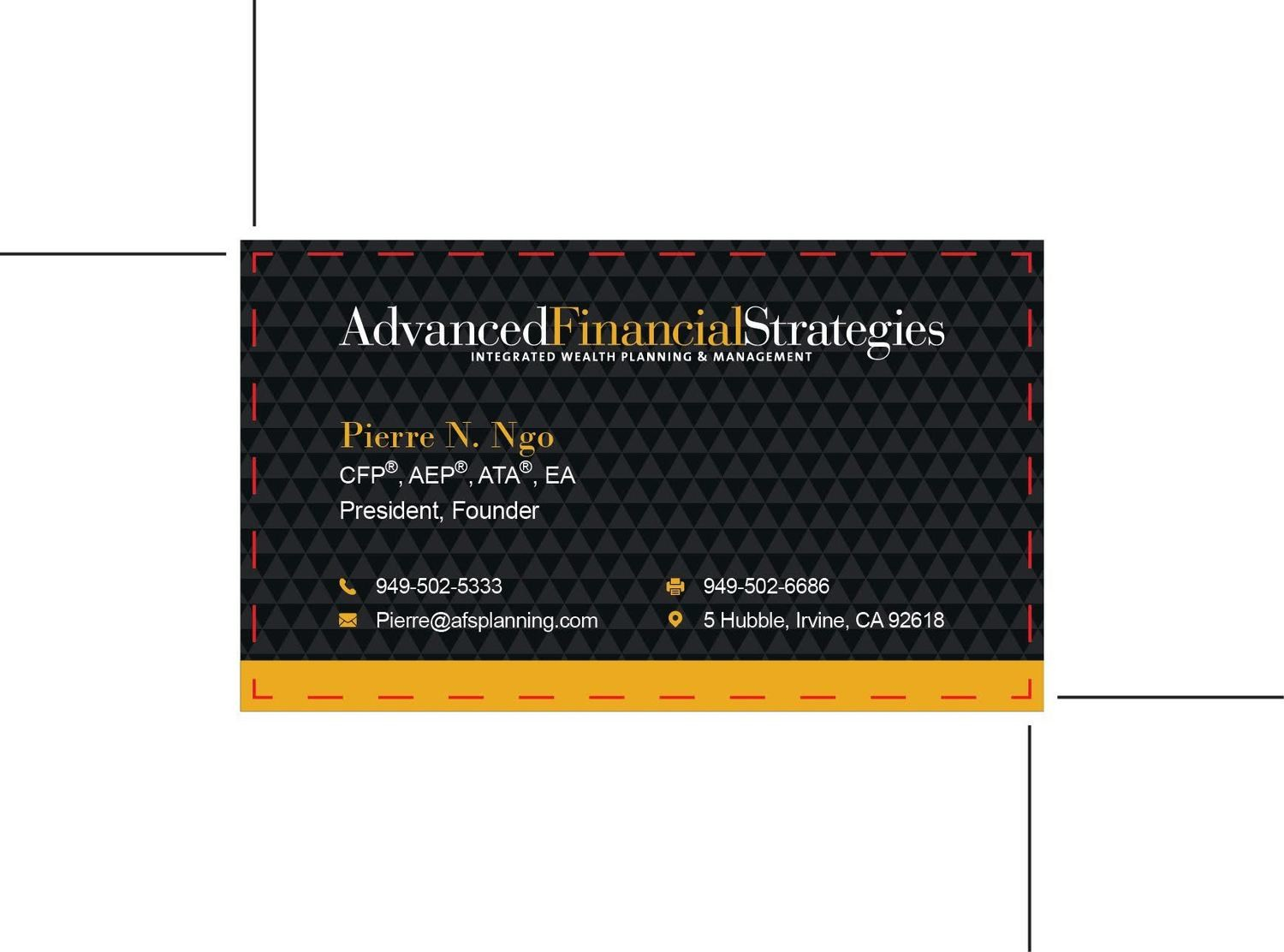 Advanced Financial Strategies - Custom Order