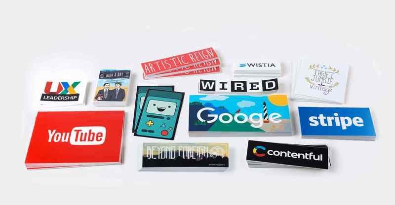 70# Stickers w/ UV - Square & Rectangle Cut