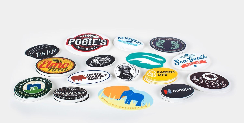 70# Stickers w/ UV - Oval Cut