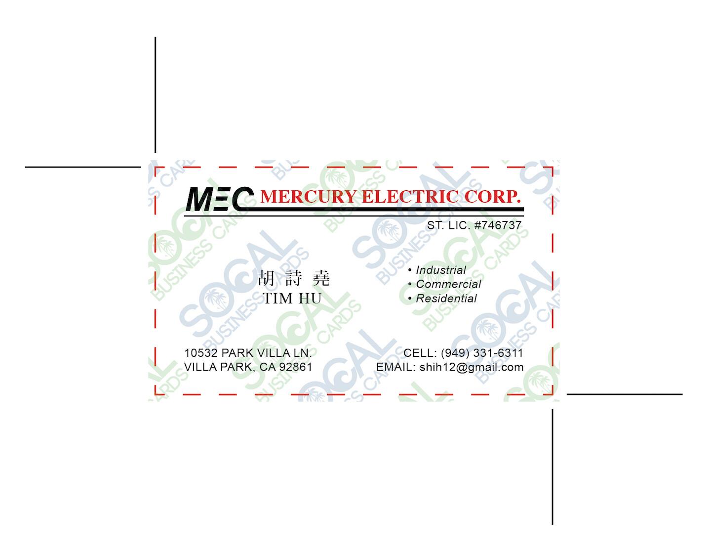 Custom Order - MEC