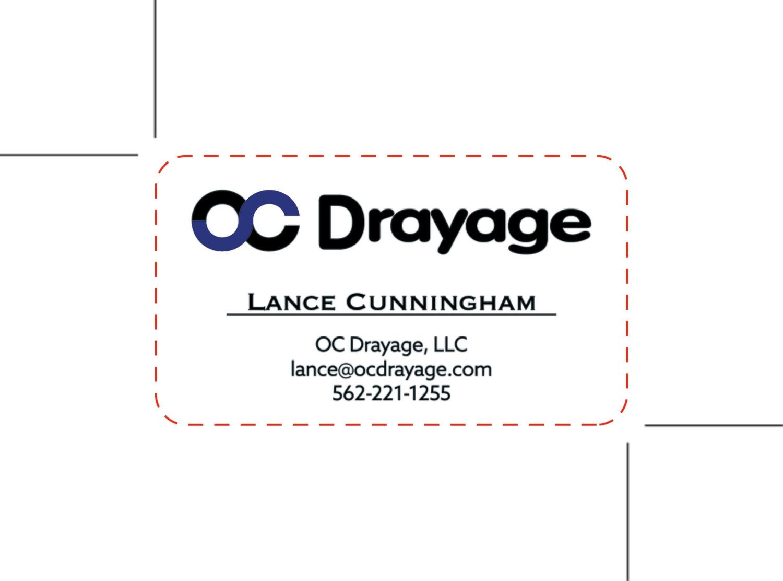 Custom Order - OC Drayage
