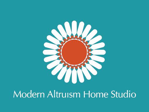 Modern Altruism Home Studio - Logo - Custom Order