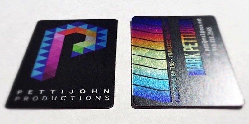 16pt Aquafoil / Cold Foil Cards (*CURRENTLY ON BACK ORDER)