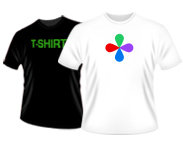 Colored T-shirts - Full Color Print - Mens, Women's & Children's