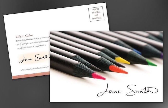 "16pt Gloss, 16pt Matte & 14pt Uncoated Postcards - XXL - (4.5"" x 12"")"
