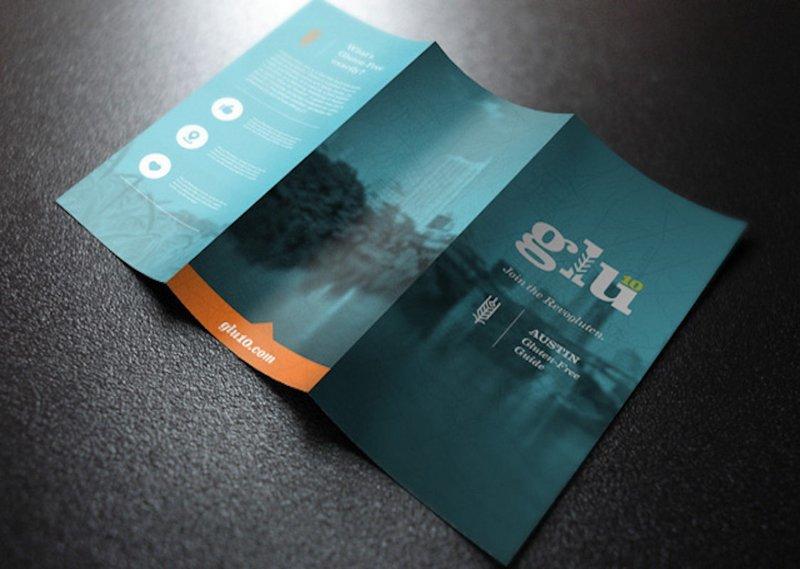Brochures / Menus - Half Page - Folded - 8.5