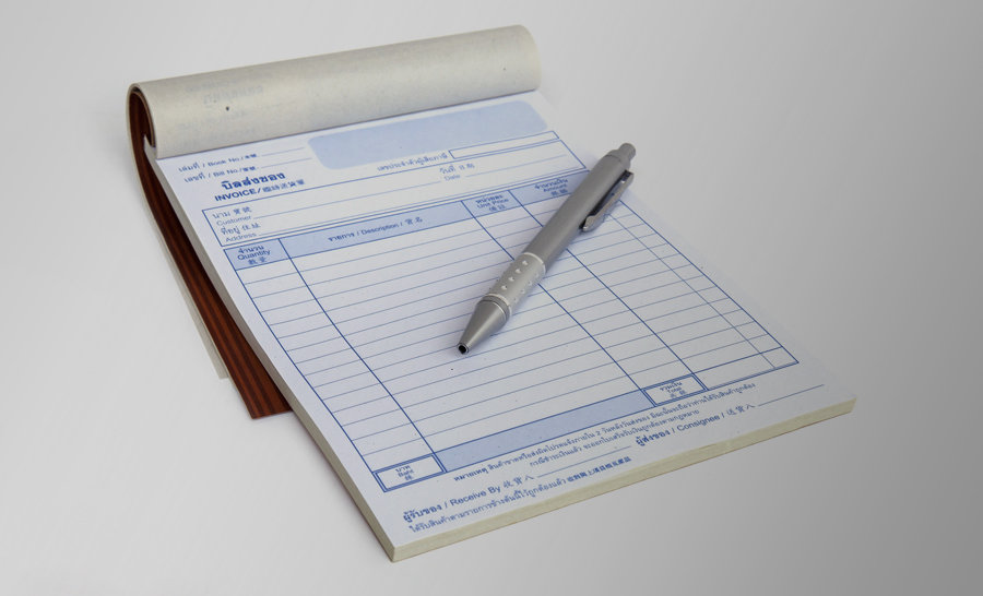 Invoice / NCR Forms - Wrap Around Booklets