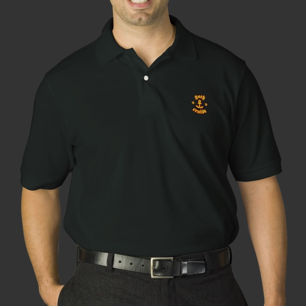 Polos - Full Color Embroidery - 1 Color Shirt