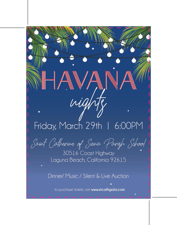 Custom Order - Havana Nights