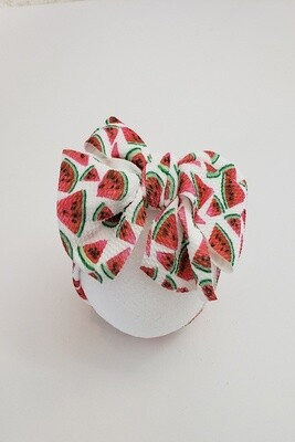 Watermelon Waffle Headband