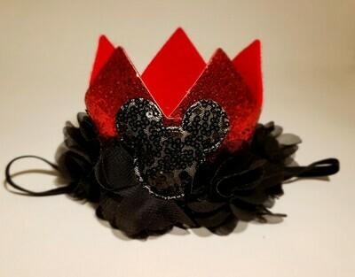 Mouse Crown Headband