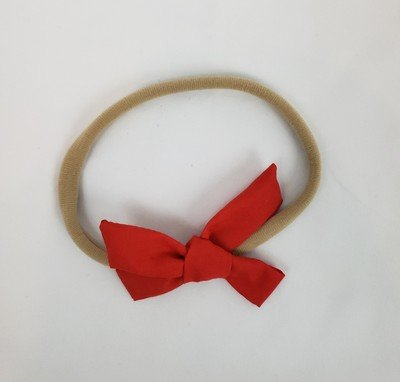 Nylon Headband Bow